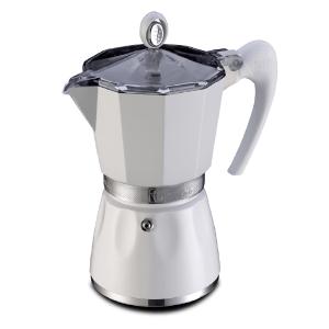 Гейзерная кофеварка GAT BELLA белая 6cup
