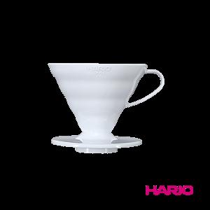 Пуровер Hario V60 02 белый пластиковый