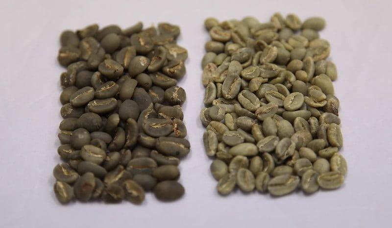 Полумытая обработка кофе