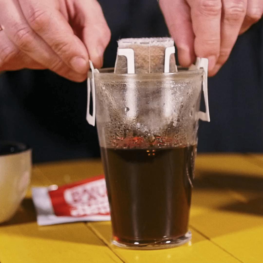Как заваривать дрип кофе