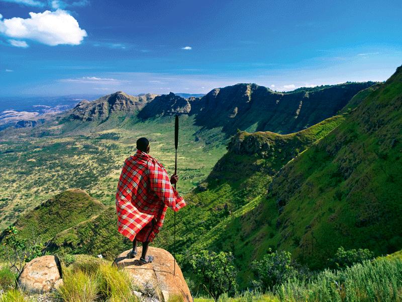 Кения Великая Рифтовая долина